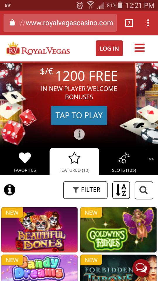 Favorite Online Casinos Royal Vegas Mobile Makeover