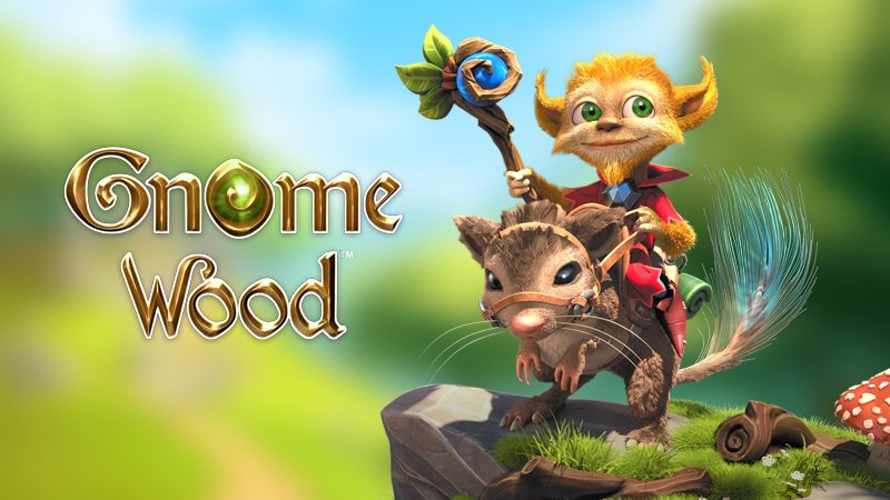 Fantasy Slots Game Gnome Wood Slots