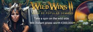 Royal Vegas Wild Wins II Online Casino Bonus Promo