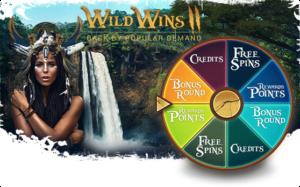 Wild Wins II Casino Bonus Promotion Prizes