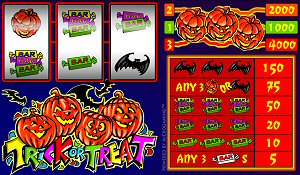 Trick or Treat Slots for Halloween