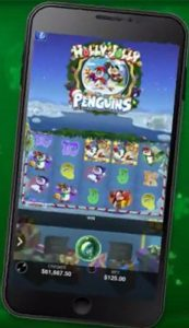 Holly Jolly Penguins Mobile Slot