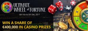 Royal Vegas Casino 400k Wheel of Fortune Promo