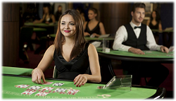 Professional Live Casino Blackjack Dealer